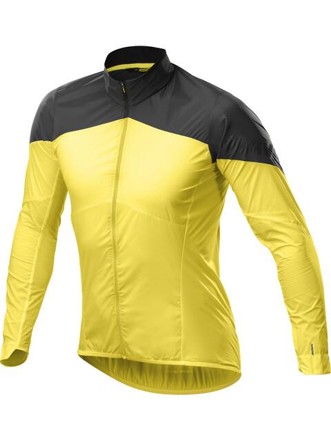 Mavic Cosmic Wind SL Jacket Men Yellow Mavic/Black